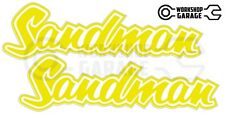 Holden HQ - HJ -  SANDMAN YELLOW XX Large Decal  - Stickers