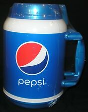 100 OUNCE INSULATED MUG PEPSI  CUP W/ LID & STRAW  100oz. *NEW **FREE SHIPPING**