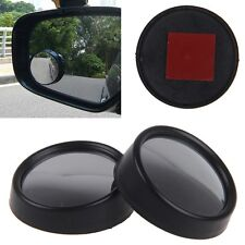 2x Car Rearview Mirror Monitor Blind Spot Side Rear View Convex Wide Angle