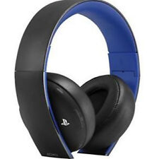 Sony Gold Wireless Stereo Headset Windows,Mac, PS4, PS3 *NEW OPEN BOX*