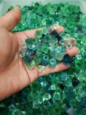 (100g)  Excellent Green Octahedral Fluorite Crystals On Matrix From China
