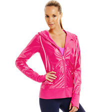 Lorna Jane Active Luminosity LJ Excel raspberry pearlescent Jacket szXS $149.99