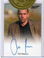 James Bond 2013 Autographs & Relic Ola Rapace auto 3 Case card #2