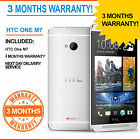 HTC One M7 - 32 GB - Silver (Unlocked) Smartphone