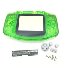 Clear Green Replacement Housing Shell Case Part for Nintendo Gameboy Advance GBA