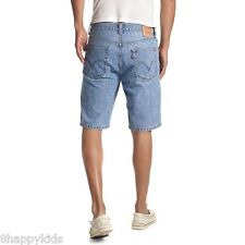 NEW NWT Levi's Men's 569 Loose Straight Denim Jeans Shorts Flat Front 33 Waist