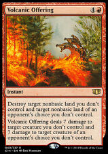 VOLCANIC OFFERING NM mtg Commander 2014 Red - Instant Rare