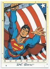 DC STARS - CARD 01 -SUPERMAN (ADHI)