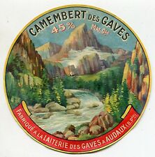 FROMAGE CAMENBERT DES GAVES LAITERIE DES GAVES A ADAUX
