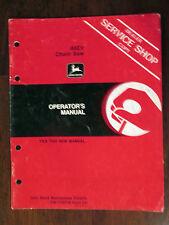 JOHN DEERE Operator's Manual 46EV Chain Saw