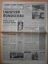 Lausitzer rundschau 21. février 1990 mercredi Cottbus maison Golodkowski Kuczynski