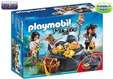 Playmobil 6683 Pirate Treasure Hideout - New, Sealed
