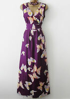 NEW MAXI COTTON BUTTERFLY SUMMER DRESS FESTIVAL CRUISE HOLIDAY 8 10 12 14