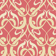 Damask Wallpaper Self Adhesive Vinyl Retro Art Deco Modern French Home Depot