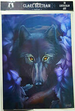 Brand New Licensed 3D Lenticular Art Clare Bertram When the Wolfbane Wolf Print