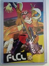 """2009 SDCC COMIC CON FLCL DVD COLLECTION ADVERTISMENT CARD (APROX. 4"""" x 6"""")"""