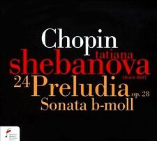 Chopin: 24 Preludes Op. 28/Sonata In B Minor, New Music