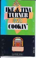 Cassette: Ike and Tina Turner Cookin' (Classic Soul Series Jem Records PBC 5500)