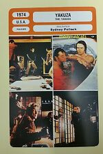 US Neo-Noir Gangster Film The Yakusa Robert Mitchum French Film Trade Card