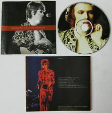 DAVID BOWIE BBC Sessions 1969-1972 Sampler CD WITHDRAWN UK Promo 1996