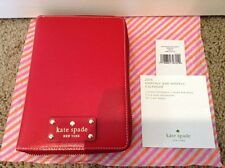 BRAND NEW KATE SPADE WELLESLEY FULL ZIP AROUND PERSONAL ORGANIZER RED PLANNER
