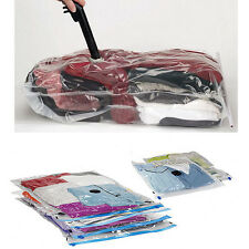 "5 Vacuum Compression Bag Storage Organizer Travel Space Saver Seal 17.7"" X 23.6"""
