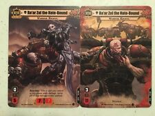 Ba'ar Zul Alt Art Card Warhammer Conquest The Card Game Summer 2016 OP