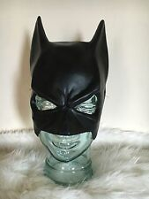 ADULT BATMAN SUPERHERO HALF FACE RUBBER LATEX BAT MASK FANCY DRESS ACCESSORY