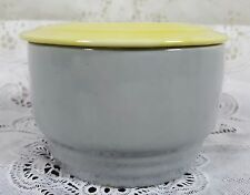 """Vintage Hall Ovenware 3 3/4"""" Refrigerator Dish Made For General Electric"""