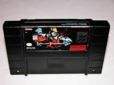 Killer Instinct Game for Super Nintendo SNES System Console *TESTED & CLEANED*