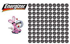100 Genuine Energizer CR2032 Lithium Battery 3V Coin Cell ECR2032