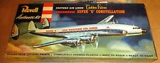 VINTAGE [1956] REVELL LOCKHEED SUPER G CONSTELLATION [EASTERN AIRLINES] 1/128