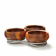 Nambe Braid Condiment Server