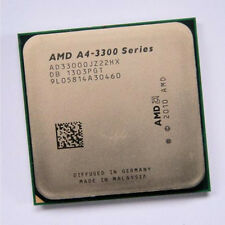 AMD A4-3300 AD3300OJZ22GX 2.5 GHz X2 Processor FM1 CPU processor 905pin