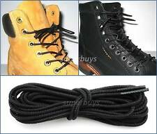 150cm Timberland Black Hiking Trekking Shoe Work Boot Laces Trek Hike 6/7 Eyelet