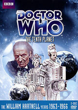 "DOCTOR WHO DVD ""THE TENTH PLANET"" 2 DISC DVD SET LAST WILLIAM HARTNELL STORY 29"