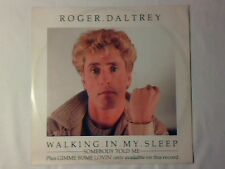 "ROGER DALTREY Walking in my sleep 12"" ITALY EURYTHMICS WHO COME NUOVO LIKE NEW"