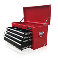 381 US PRO TOOLS AFFORDABLE RED BLACK TOOL STORAGE CHEST BOX STEEL CABINET