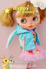 BHC FN663 Happy Bunny Dress Set for Kenner Blythe doll outfit