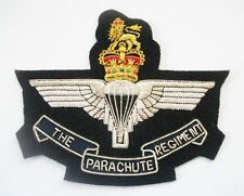 THE PARACHUTE REGIMENT GOLD WIRE BLAZER BADGE