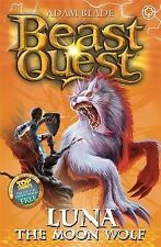 Beast Quest - The Amulet Of Avantia - Luna The Moon Wolf By Adam Blade