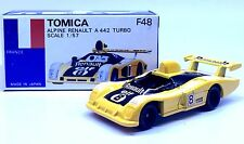 MADE IN JAPAN TOMY TOMICA F48 APLINE RENAULT A442 TURBO RACING 1/57 DIECAST CAR