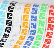 14 X NFC Tags NTAG213 Coloured Oblong Stickers –Samsung Android Nokia Compatable
