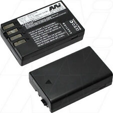 7.4V 900mAh Replacement Battery Compatible with Pentax D-Li109
