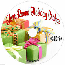 30 Craft Books CD Holidays Halloween Christmas Easter Mother Father 4th St
