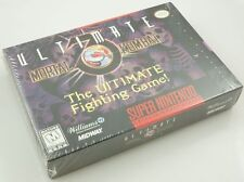 Super Nintendo SNES - Ultimate Mortal Kombat 3 - Brand New Factory Sealed NICE