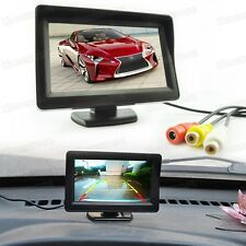 """4.3"""" TFT LCD Screen Security Monitor for Car Front/Rearview Camera / DVD / CCTV"""