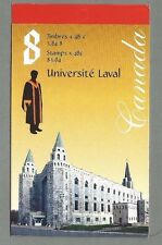 CANADA 2002 Booklet - LAVAL UNIVERSITY - 8 @ 48c. - Complete MNH