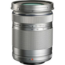 Olympus M. Zuiko Digital ED 40-150mm f4.0-5.6 R Silver Lens- Authorized Dealer
