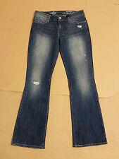 W793 Mujer Demi Curve Skinny Bootcut LEVI Azul Denim Jeans 10 W28 L31